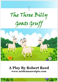 Kids drama play Billy Goats Gruff