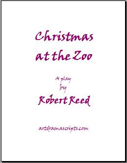 Christmas at the Zoo play script cover
