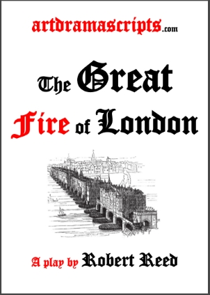 The Great Fire of London play script KS1