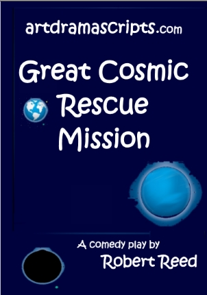 Space adventure comedy play script for kids