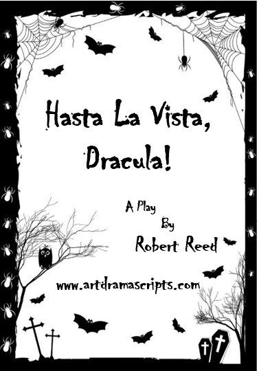 High school Halloween comedy script Dracula by Robert Reed