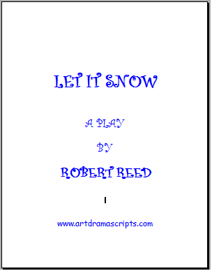 Let It Snow playscript cover