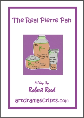 Real Pierre Pan panto script parody comedy for kids