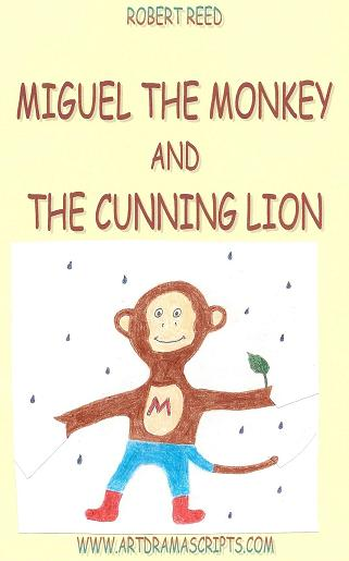Miguel Monkey and Lion fable KS2 resource primary elementary playscript for kids