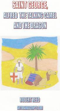 Saint George and the Dragon short funny play script for kids