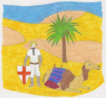 St George's Day assembly play script for kids